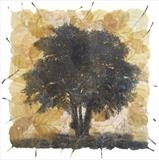 Alnus by Emma Buckmaster, Artist Print, Etching on alder leaves
