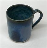 Blue mug by Emma Buckmaster, Ceramics